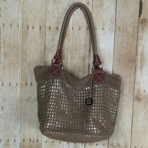 The Sak NWOT  Brown & Gold Handbag